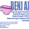 UPCOMING LIVE GIGS WITH BENJ AXWEL